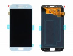 Genuine Samsung Galaxy A5 2017 A520 Blue LCD Screen & Digitizer - GH97-19733C