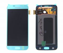 Genuine Samsung Galaxy S6 G920 Blue LCD Screen & Digitizer - GH97-17260D