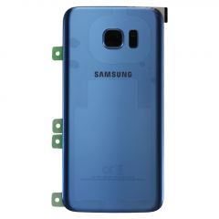 Genuine Samsung Galaxy S7 Edge G935 Coral Blue Battery Cover & Adhesive - GH82-11346F