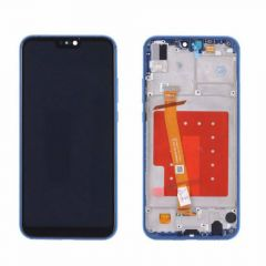 Huawei P20 Lite Blue LCD Screen & Digitizer With Frame OEM - 400057
