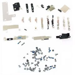 """Complete Set of Small Metal Internal Bracket Holder & Shield Plate Kit & Complete Screw Set for iPhone 6s (4.7"""" inches)"""
