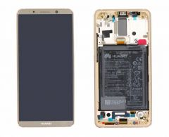 Genuine Huawei Mate 10 Pro BLA-L09, BLA-L29 Brown LCD Screen & Digitizer - 02351RQM