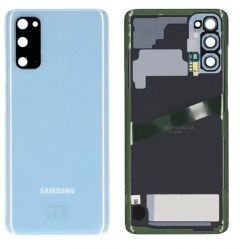 Genuine Samsung Galaxy S20 SM-G980 Blue Rear / Battery Cover with Adhesive - GH82-22068D