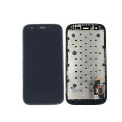 Motorola Moto G LCD Black With Frame OEM - 5507010145321