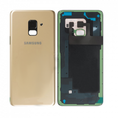 Genuine Samsung Galaxy SM-A530 A8 (2018) Battery Cover In Gold : GH82-15551C