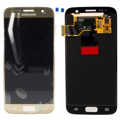 Genuine Samsung Galaxy S7 G930 Gold LCD Screen & Digitizer No LCD Adhesive- GH97-18523C