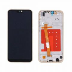 Huawei P20 Lite Gold LCD Screen & Digitizer With Frame OEM - 400059