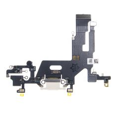 iPhone 11 Charging Port Flex Cable (WHITE) - 400000459