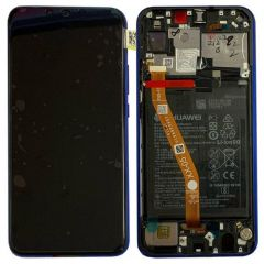 Official Huawei P Smart Plus Purple LCD Screen & Digitizer - 02352BUH