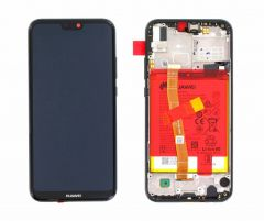 Genuine Huawei P20 Lite Black LCD Screen & Digitizer - 02351VPR 02351XTY