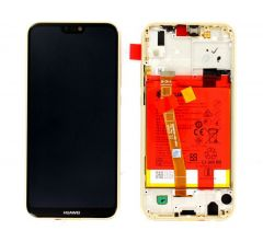 Official Huawei P20 Lite Gold LCD Screen & Digitizer with Battery - 02351WRN