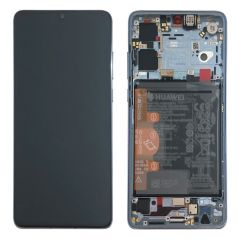 Official Huawei P30 Breathing Crystal LCD Screen & Digitizer with Battery - 02352NLP