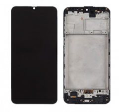 Genuine Samsung Galaxy M31 (M315F) LCD And Touchpad In Black - Part No: GH82-22631A , GH82-22405A