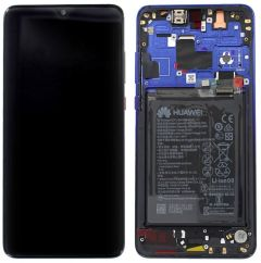 Official Huawei Mate 20 Twighlight LCD Screen & Digitizer with Battery - 02352FRA