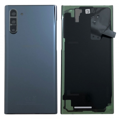 Official Samsung Galaxy Note 10 SM-N970 Aura Black Battery Cover with Adhesive - GH82-20528A
