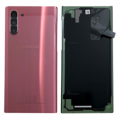 Official Samsung Galaxy Note 10 SM-N970 Aura Pink Battery Cover with Adhesive - GH82-20528F