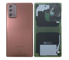 Genuine Samsung Note 20 (N980F) / (SM-N981) 5G Battery Cover In Mystic Bronze - Part no: GH82-23299B