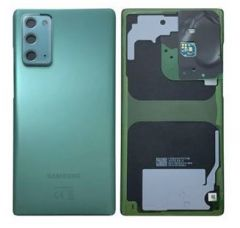 Genuine Samsung Note 20 (N980F) 5G (SM-N981) 5G Battery Cover In Mystic Green - Part no: GH82-23299C