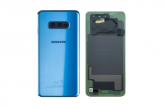 Official Samsung Galaxy S10E G970 Prism Blue Battery Cover - GH82-18452C