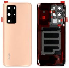 Official Huawei P40 PRO Blush Gold Battery Cover with Adhesive - 02353MNB