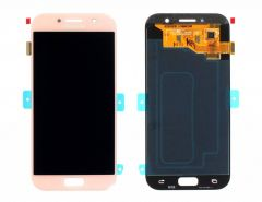Genuine Samsung Galaxy A5 2017 A520 Pink Gold LCD Screen & Digitizer - GH97-19733D