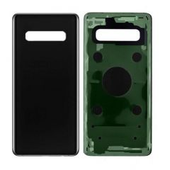 Samsung Galaxy S10 5G , S10 G973 - Replacement Battery Cover Prism Black OEM - 400000360