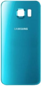 Genuine Samsung Galaxy S6 G920F Blue Glass Rear Battery Cover with Adhesive - GH82-09706D