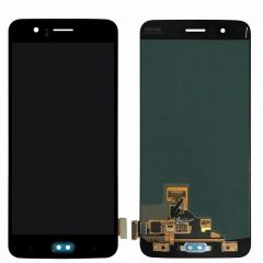 One Plus 5 LCD Assembly Black OEM - 4843401130