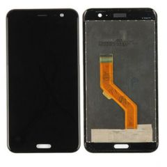 HTC U11 LCD Touchscreen Assembly Black OEM - 5506001234552