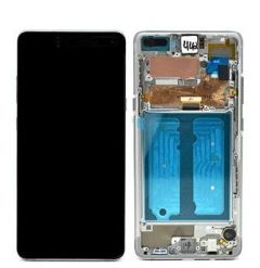 Official Samsung Galaxy S10 5G G977 Crown Silver LCD Screen & Digitizer - GH82-20442A