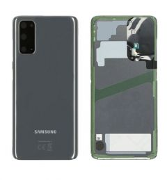 Genuine Samsung Galaxy S20 SM-G980 Grey Rear / Battery Cover with Adhesive - GH82-22068A