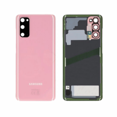 Genuine Samsung Galaxy S20 SM-G980 Pink Rear / Battery Cover with Adhesive - GH82-22068C