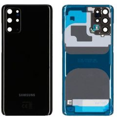 Genuine Samsung Galaxy S20 Plus SM-G986 4G/5G Cosmic Black Battery Cover -GH82-22032A