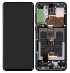 Genuine Samsung Galaxy S20+ 4G / 5G SM-G985F / G986 Cosmic Black Complete Display Module : GH82-22134A