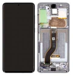 Official Samsung Galaxy S20 SM-G980, S20 5G SM-G981 Grey LCD Screen & Digitizer - GH82-22123A