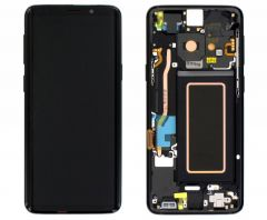 Genuine Samsung Galaxy S9 SM-G960 Midnight Black LCD Screen & Digitizer - GH97-21696A