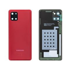 Genuine Samsung Galaxy Note 10 Lite (SM-N770F) Battery cover Red - GH82-21972C