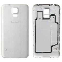 Samsung Galaxy S5(G900F) Battery Cover WHITE OEM - 5502143526660