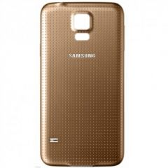 Samsung Galaxy S5(G900F) Battery Cover GOLD OEM - 5502143526661