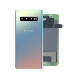 Genuine Samsung SM-G977B Galaxy S10 5G Back / Battery Cover In Crown Silver - Part no : GH82-19500A