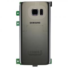 Genuine Samsung Galaxy S7 G930 Silver Battery Cover & Adhesive - GH82-11384B