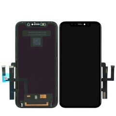 Genuine iPhone 11 OLED LCD Assembly Grade A (Pull Out) (BLACK) - 402025577