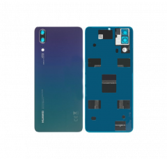 Official Huawei P20 Twilight Rear / Battery Cover with Adhesive - 02352BMM