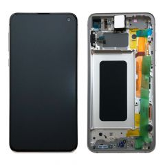 Official Samsung Galaxy S10E G970 Prism White LCD Screen & Digitizer - GH82-18852B