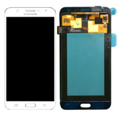 Genuine Samsung Galaxy J700, J700F, J700T, J7 Lcd with Digitizer in White - GH97-17670A