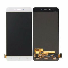 One Plus X LCD Assembly White OEM - 5883884082