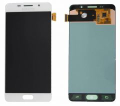 Genuine Samsung SM-A500 Galaxy A5 White LCD Screen & Digitizer - GH97-16679A