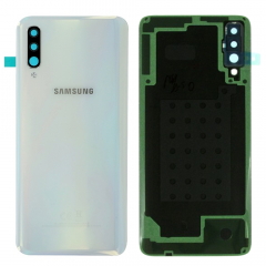 Genuine Samsung Galaxy A70 SM-A705 Glastic White Battery Cover - GH94-22967B