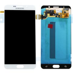 Genuine Samsung Galaxy Note 5 (N920F) LCD Assembly White - GH97-17755C