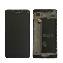 Nokia Lumia 950 LCD Black With Frame OEM - 5508211532455
